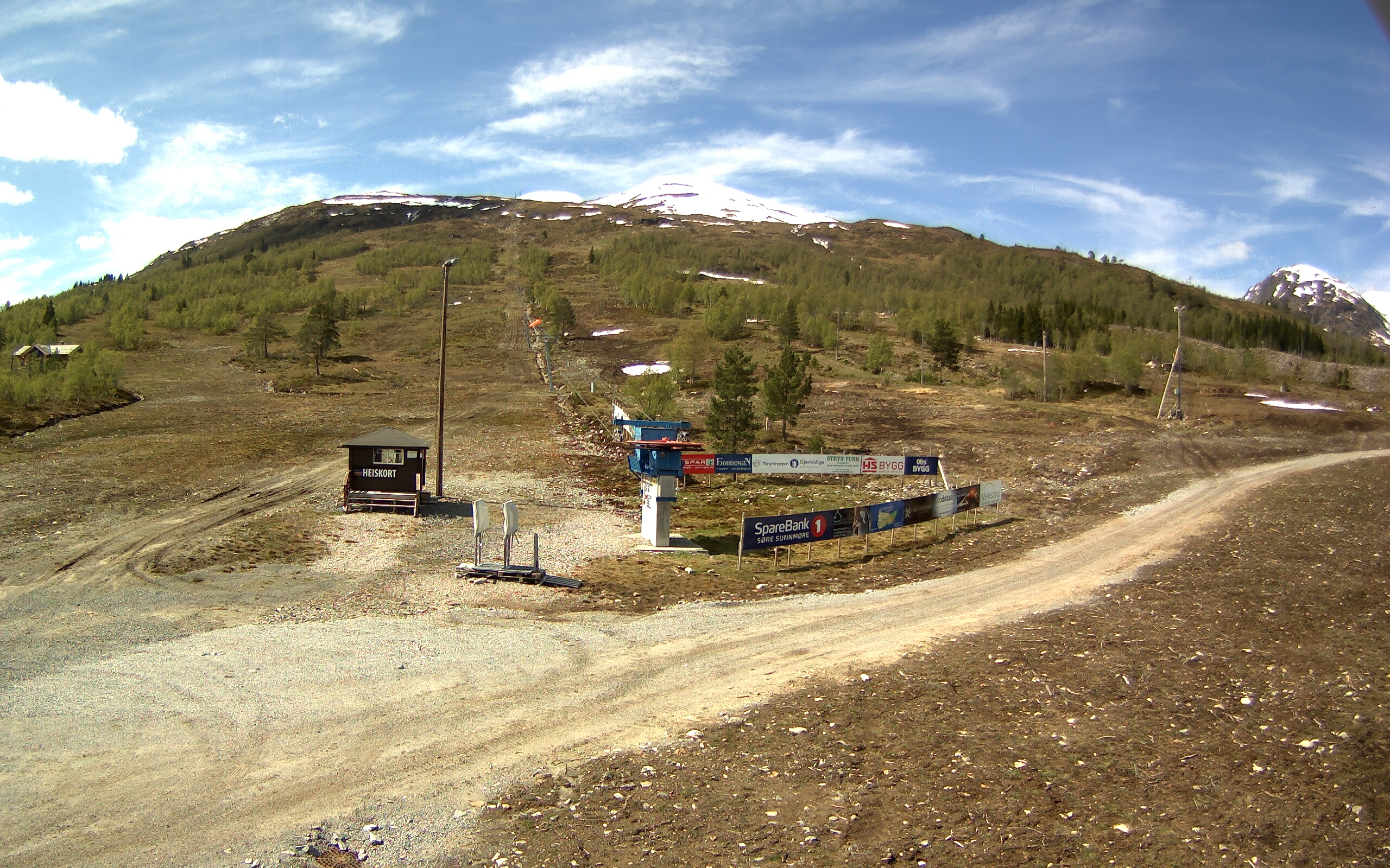 Webcam Hornindal Skisenter, Hornindal, Sogn og Fjordane, Norwegen